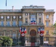 Celebration in Paris royalty free stock image