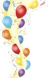 Celebration party and balloons Royalty Free Stock Photo