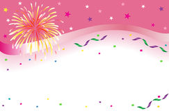 Celebration and party banner Royalty Free Stock Images