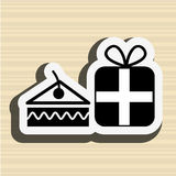 Celebration party icon design Royalty Free Stock Photo