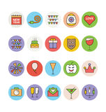 Celebration and Party Vector Icons 1 Royalty Free Stock Photography