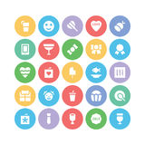 Celebration and Party Vector Icons 5 Stock Photo