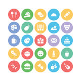 Celebration and Party Vector Icons 3 Stock Photo