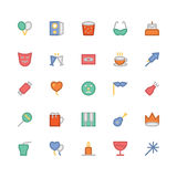 Celebration and Party Vector Icons 8 Stock Photo