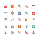 Celebration and Party Vector Icons 2 Royalty Free Stock Photography