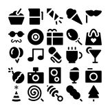 Celebration and Party Vector Icons 2 Stock Images