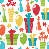 Celebration pattern Stock Images
