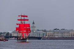 Celebration Scarlet Sails Royalty Free Stock Image