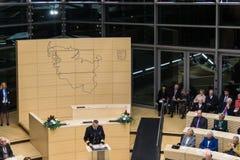 The Celebration of the Schleswig-Holstein Landtag Stock Photo