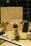The Celebration of the Schleswig-Holstein Landtag. Klaus Schlie, president of the Schleswig-Holstein Landtag, delivers a speech during the celebrations in 125 stock photography