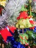Colourful Christmas decoration Royalty Free Stock Photo