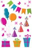 Celebration set Royalty Free Stock Photos