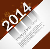 Celebration shiny for new year 2014 holiday. Background Stock Illustration