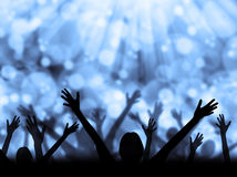 Celebration Silhouette Royalty Free Stock Photos