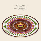 Celebration of South Indian festival, Happy Pongal. Royalty Free Stock Photo