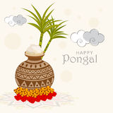 Celebration of South Indian festival, Happy Pongal. Stock Photo