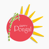 Celebration of South Indian festival, Happy Pongal. Stock Image