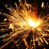 Celebration sparklers Royalty Free Stock Photo