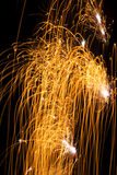 Celebration sparklers Royalty Free Stock Image