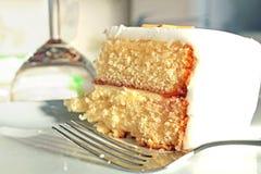 Celebration Sponge Cake Royalty Free Stock Image