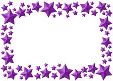 Celebration star framework Stock Image