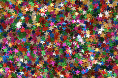Celebration stars. For backgrounds or textures Stock Photo