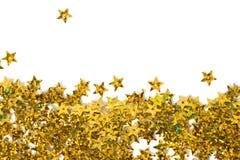 Celebration stars on white Royalty Free Stock Photography