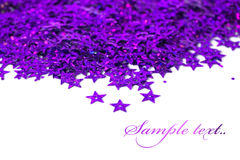Celebration stars on white Royalty Free Stock Images