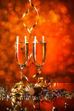 Celebration still life Stock Images
