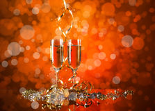 Celebration still life Royalty Free Stock Images