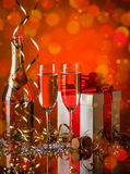 Celebration still life Stock Photos