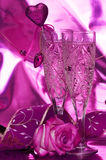 Celebration table Royalty Free Stock Image