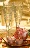 Celebration Table Royalty Free Stock Photos