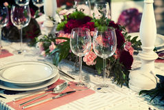 Celebration table Stock Images