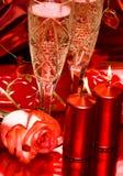 Celebration Table, Rose Royalty Free Stock Photo