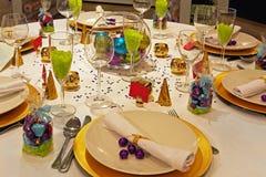 Celebration table Stock Photo