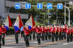 Street parade in Nagoya city, Japan