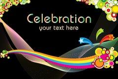Celebration theme. Great idea of Celebration theme background for your website, powerpoint, leaflet etc royalty free illustration
