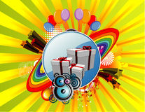 Celebration vector Royalty Free Stock Images