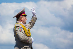 Celebration of Victory Day in Kiev Stock Image