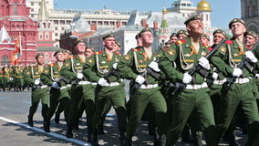 Celebration of the Victory Day stock video footage