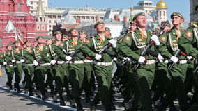 Celebration of the Victory Day Stock Photos