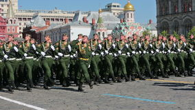 Celebration of the Victory Day stock footage