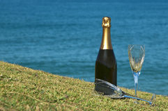 Celebration and a view. Stock Photography