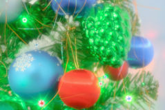 Celebration- winter season stock image