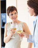 Celebration: Women having champagne at a party Royalty Free Stock Photo