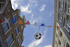 Celebration worldcup soccer. 2014 Amsterdam Stock Photography