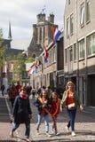 Celebrations in Dordrecht Stock Image