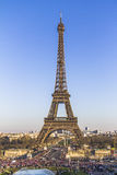 Celebrations at the Eiffel Tower in Paris. France Stock Photo