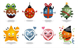 Celebrations icons Royalty Free Stock Images